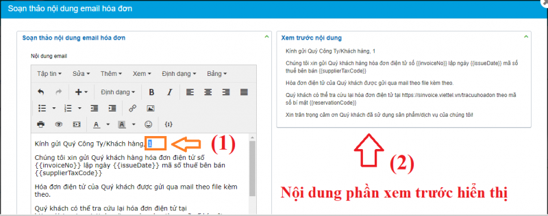 Soạn Thảo Nội Dung Email2